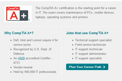 Describing the CompTia A+ Exam - Vince Greco Technology DDI